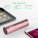 BONAI 5800mAh Batterie Externe Portable Power Bank Ultra Capacité pour iPhone X/ 6/7/ 8plus iPad Samsung Galaxy S8/9/Note9 Huawei Sony Tablette etc- Or Rose ((USB câble Inclus)) de la marque BONAI image 4 produit